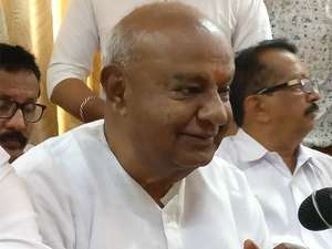 Congress What done to Former PM H.D.Deve Gowda